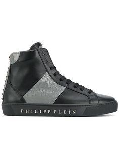 хайтопы на шнуровке Philipp Plein