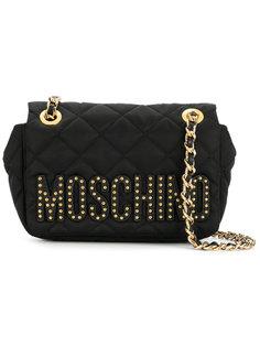 мини сумка через плечо Moschino