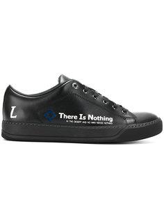 кроссовки со слоганом Lanvin