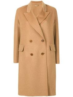 двубортное пальто Ermanno Scervino