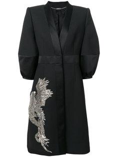 платье с отделкой  Alexander McQueen