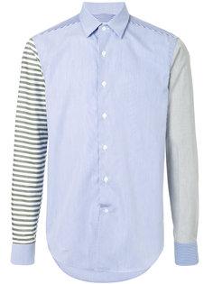 рубашка дизайна колор-блок Loewe