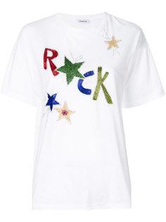 декорированная футболка Rock P.A.R.O.S.H.