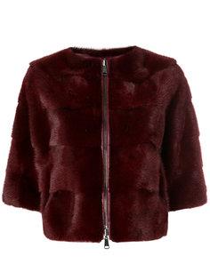 норковая куртка с панельным дизайном P.A.R.O.S.H.