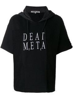 толстовка с капюшоном и вышивкой Death Metal McQ Alexander McQueen