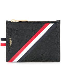 бумажник с полосатым принтом Thom Browne