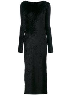 длинное платье с открытой спиной Andrea Yaaqov