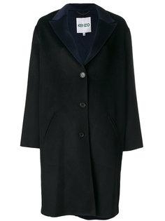 прямое пальто Kenzo