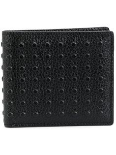 бумажник с заклепками Tods Tod'S