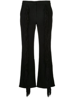 брюки с бахромой  Goen.J