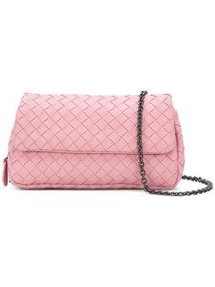 маленькая плетеная сумка на плечо Bottega Veneta