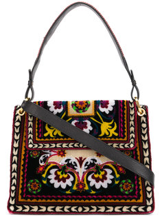 сумка на плечо с рисунком в народном стиле Etro