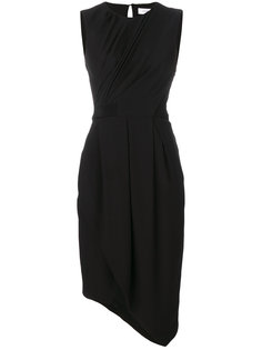 асимметричное платье с драпировкой  Carven