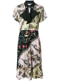 расклешенное платье с принтом  Etro