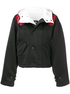 куртка с цветочной аппликацией Marcelo Burlon County Of Milan