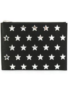 клатч для планшета со звездами Saint Laurent