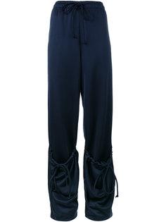 спортивные брюки с завышенной талией и карманом  JW Anderson
