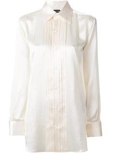 рубашка со складками Tom Ford