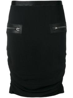 юбка с карманами на молнии Tom Ford