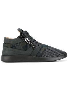 кроссовки с заклепками Runner  Giuseppe Zanotti Design