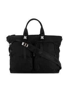 дорожная сумка с креплениями Prada