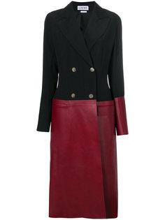 пальто колор блок  Loewe