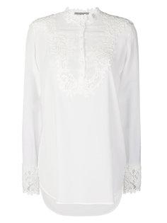 блузка с кружевной вставкой  Ermanno Scervino