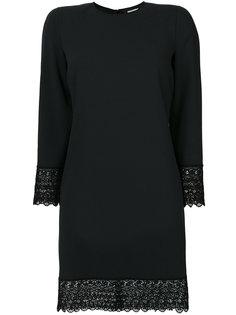 платье с фигурной кружевной отделкой  Dsquared2