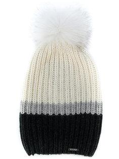 кашемировая шапка в рубчик Woolrich