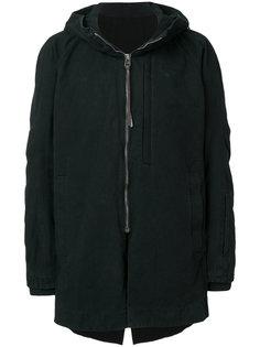 пальто с капюшоном Devoa