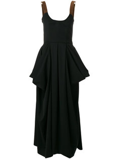 платье с драпировкой  JW Anderson