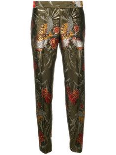 брюки клеш с цветочным принтом  P.A.R.O.S.H.