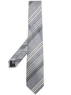 галстук в диагональную полоску Cerruti 1881