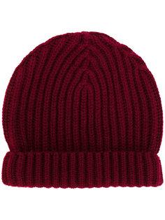 шапка в рубчик Zanone