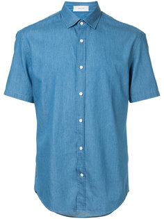 джинсовая рубашка с короткими рукавами Cerruti 1881