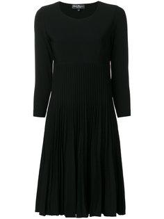 плиссированное платье  Salvatore Ferragamo