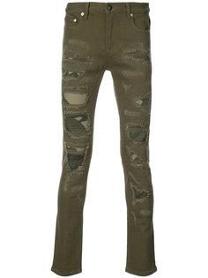 джинсы с потертым эффектом Gods Masterful Children