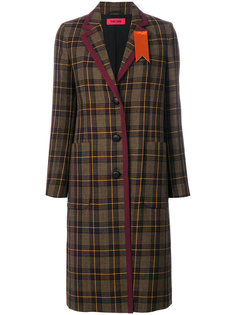 клетчатое пальто на пуговицах The Gigi