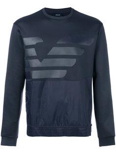 толстовка с принтом-логотипом Armani Jeans