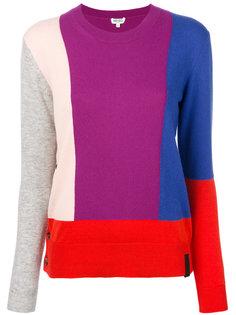 свитер со вставками колор блок  Kenzo