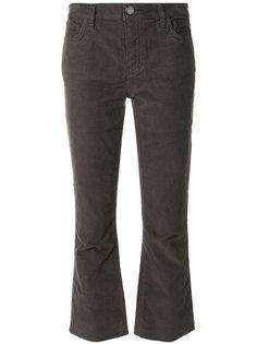 укороченные джинсы клеш  Current/Elliott