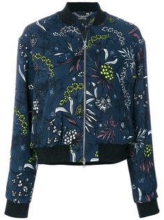 куртка с цветочным принтом Markus Lupfer