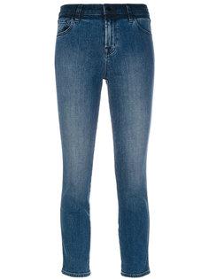 укороченные джинсы узкого кроя J Brand