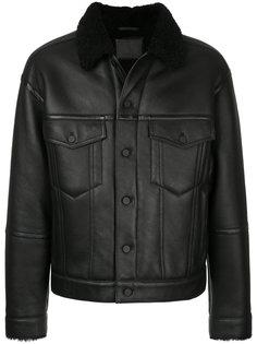 куртка с меховым воротником Alexander Wang