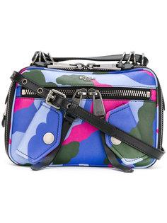 сумка с камуфляжным узором Moschino