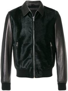 куртка-бомбер с панельным дизайном Alexander McQueen