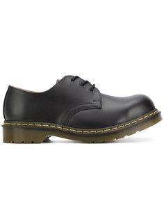 туфли дебри на массивной подошве Dr. Martens