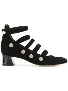 туфли с тонкими ремешками Tory Burch