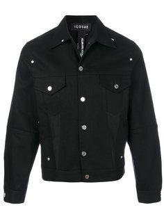 джинсовая куртка с заклепками Icosae