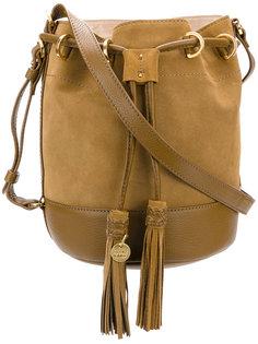 сумка с завязкой с кисточками See By Chloé
